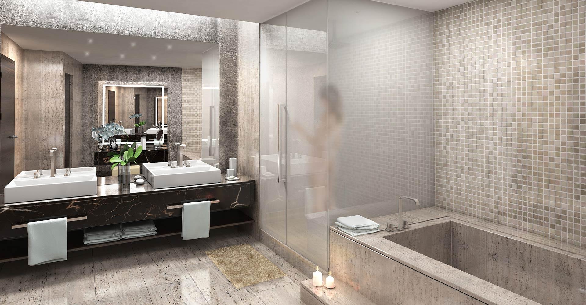 Fontaneros en madrid 100 ba os de lujo for Hoteles minimalistas en espana