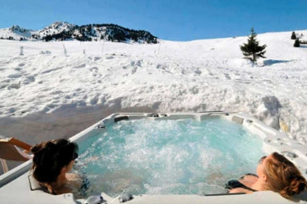 jacuzzi en la nieve fontaneros en madrid
